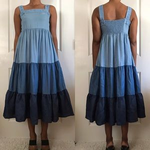 Broome Street Kate Spade Chambray Dress